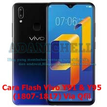 Cara Flash Vivo Y91 & Y95 (1807-1817) Via Qfil