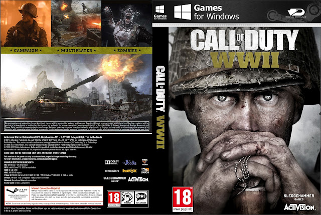 Capa Call Of Duty WWII PC