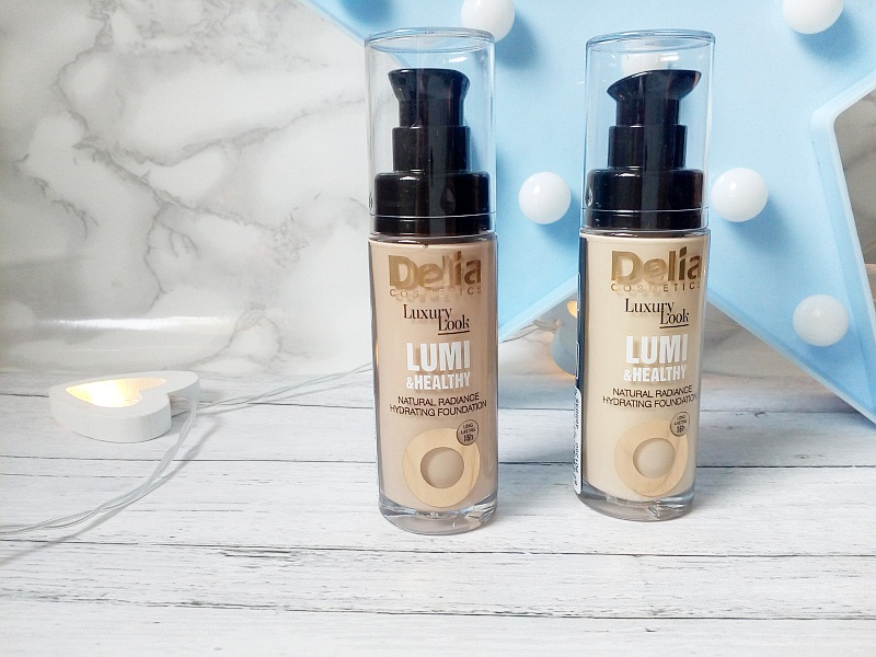 Delia Cosmetics. Podkłady Luxury Look Lumi&Healthy.