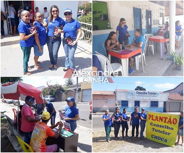 Conselho Tutelar de Chapadinha desenvolve campanha contra as drogas.