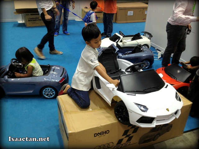While we're at it, why not get a Lamborghini Aventador for your kid?