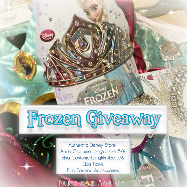 Frozen Giveaway at Focused on the Magic
