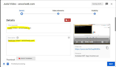 Cara Upload Video di Youtube dengan Mudah