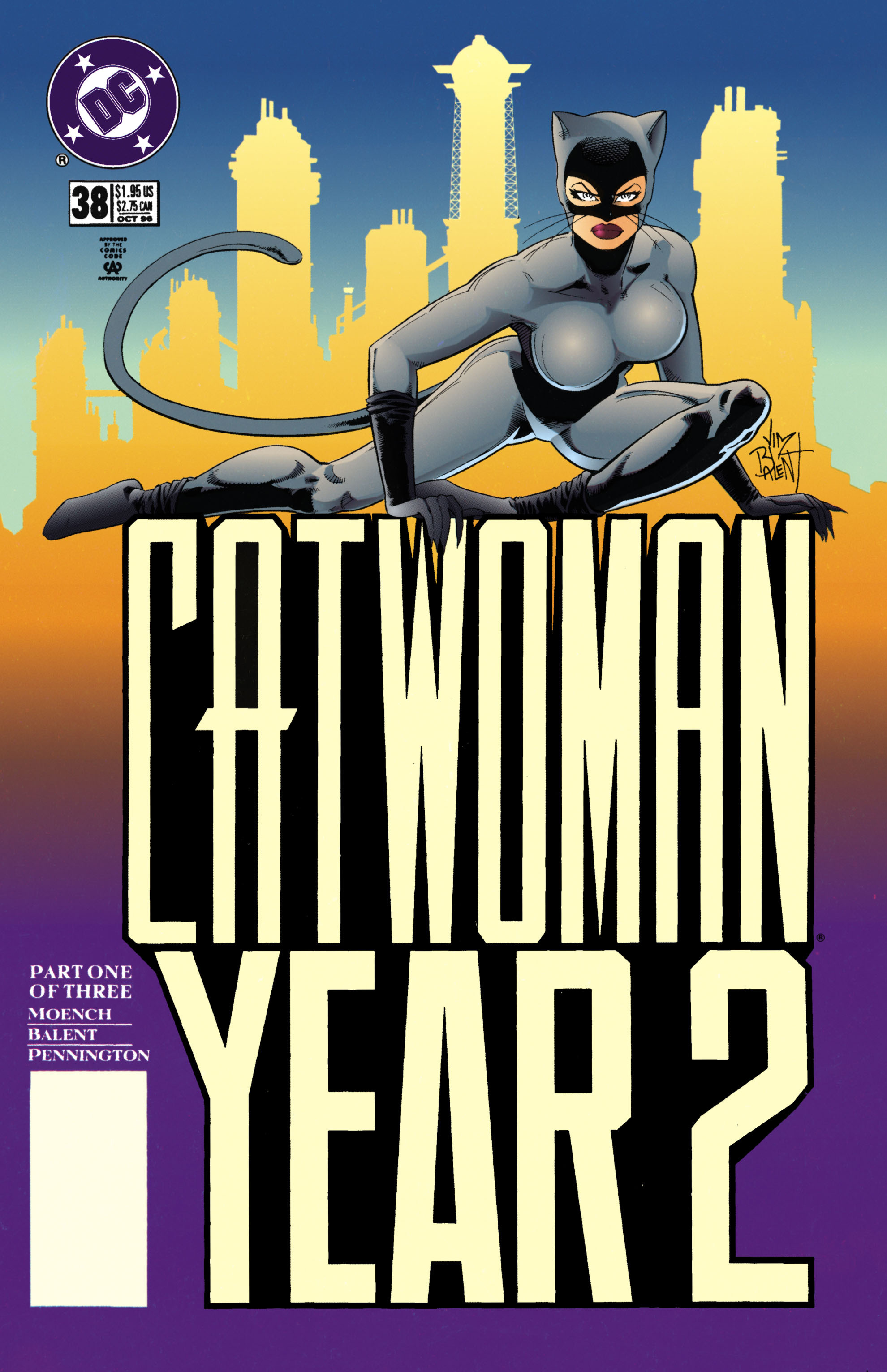 Catwoman (1993) Issue #38 #43 - English 1