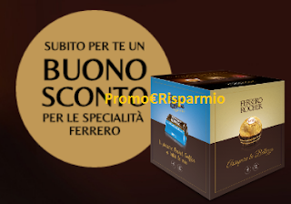 Logo Vinci gratis 150 Box assaggio Pocket Coffee e Rocher e stampa i coupon