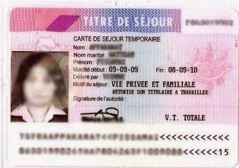 carte de séjour temporaire vie privée et familiale France : Changement de statut « Etudiant » à « Vie privée et