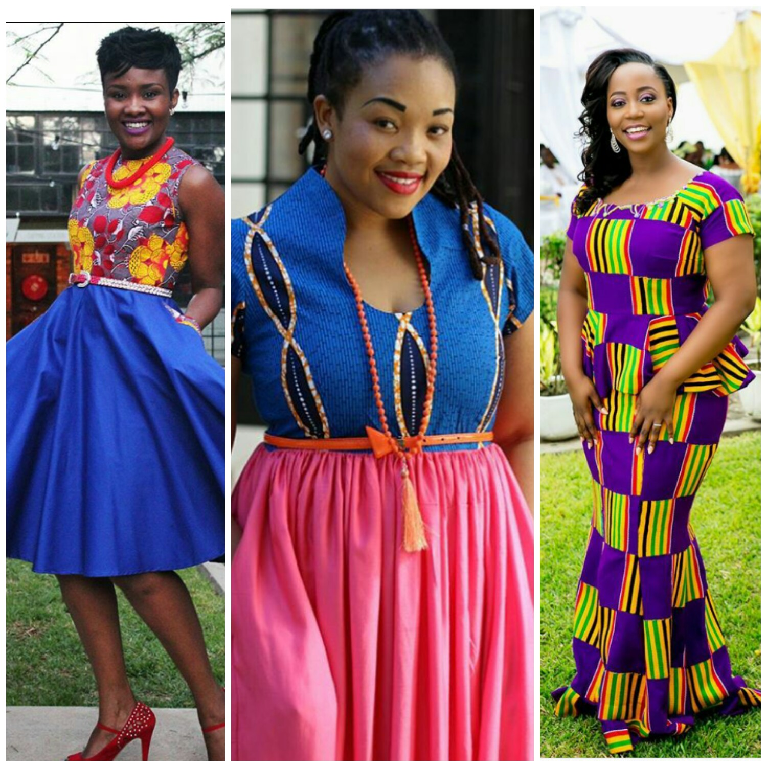 Hottest Kitenge Dress Styles