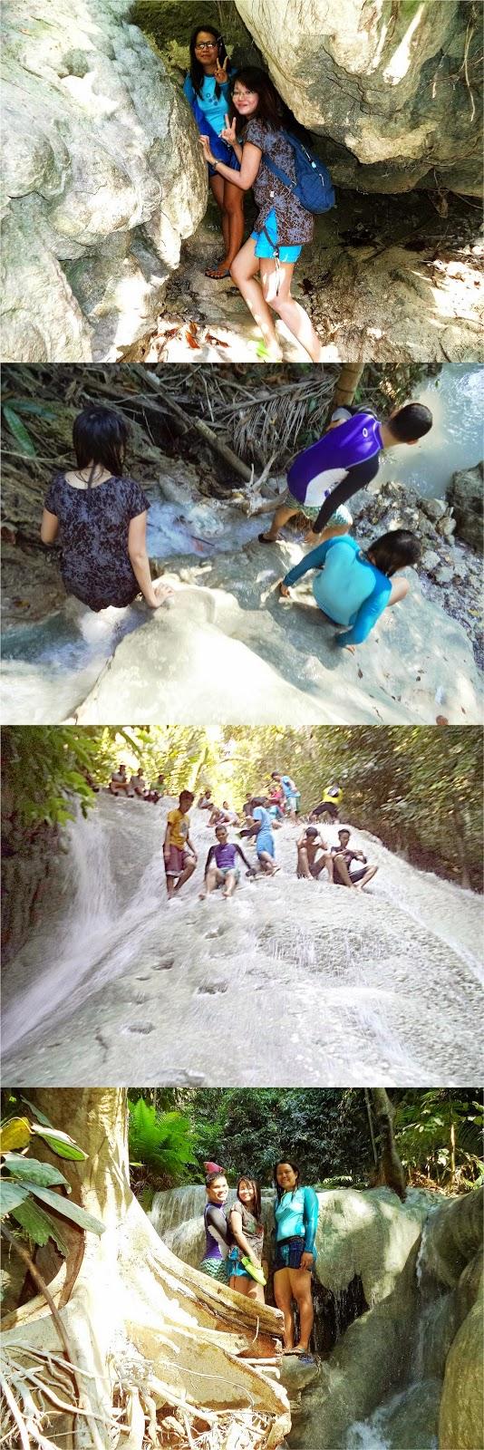 Aguinid Falls, Samboan, Cebu