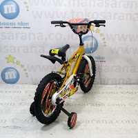 16 pacific hot shot glossy sepeda anak bmx