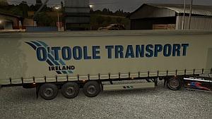 O'Toole Transport trailer