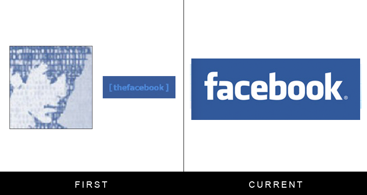 Faceboook logo history