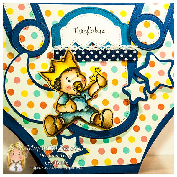 creativEle per MAGNOLIA FOREVER CHALLENGE #75 baby boy