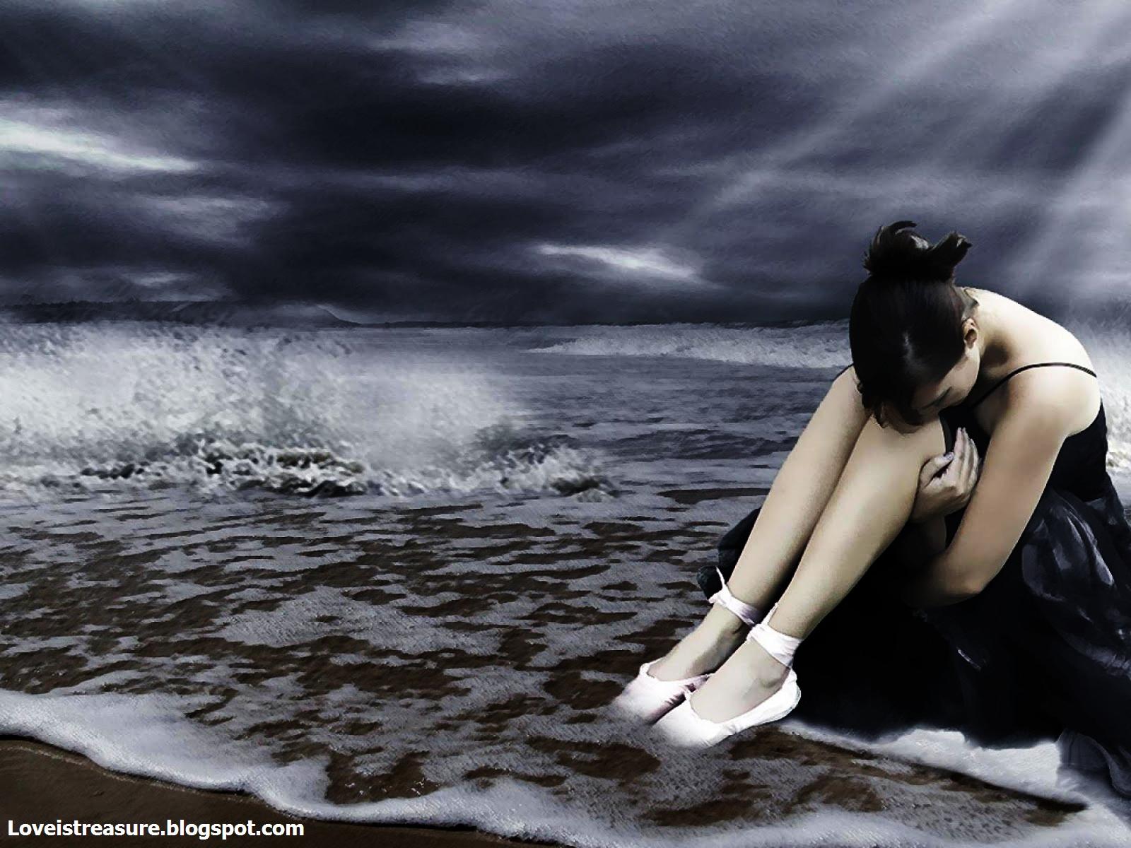 Alone Sad Girls  Alone Sad Girls Wallpapers  Alone Sad -1438