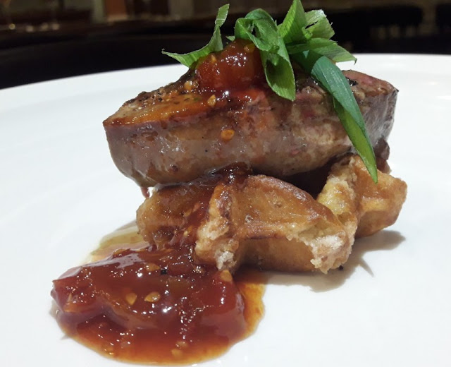 Goose liver with tomato jam