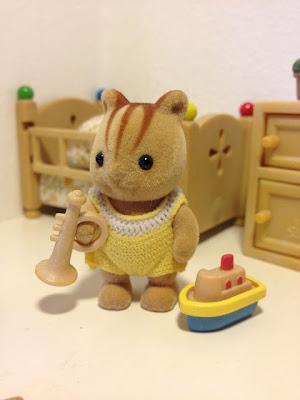 Sylvanian Families JP Japanese Furbanks Squirrel baby