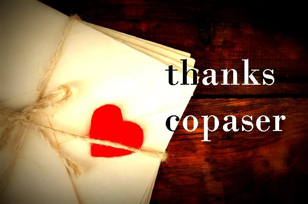 ucapan terimakasih thanks to copaser