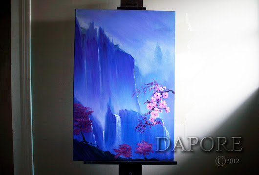 Cherry blossom 28 painting