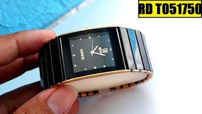 Đồng hồ nam mặt vuông Rado T051750