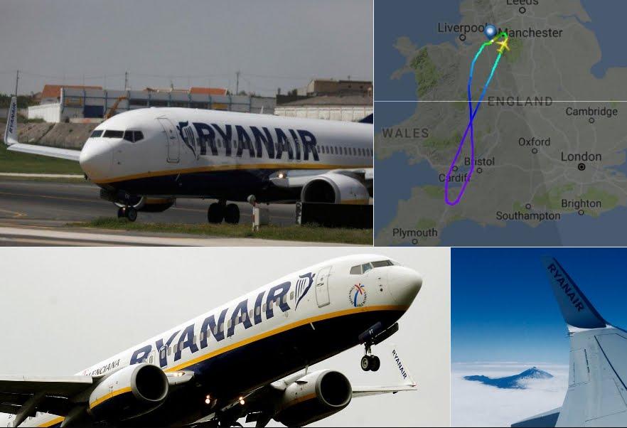 Volo Ryanair Manchester-Tenerife: passeggeri ubriachi creano caos a bordo