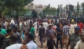 Massive Protest! Shi'ite Members Invade National Assembly Complex
