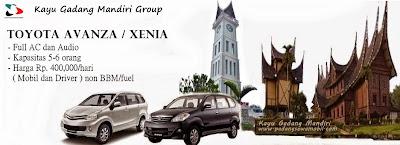 KGM rental mobil avanza di Padang
