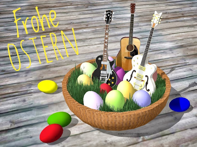 Frohe Ostern - Happy Easter - Joyeuses Pâques