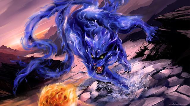 Naruto Shippuden Kurama Blue