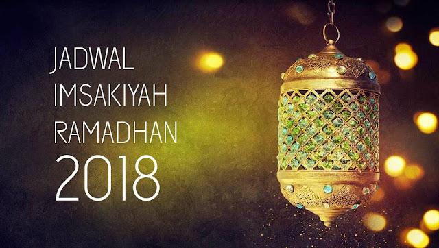 Jadwal Imsak, Sahur, dan Buka Puasa 2018 di  Wilayah Bekasi