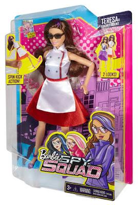 TOYS : JUGUETES - BARBIE Spy Squad   Teresa : Agente Secreto | Secret Agent | Doll - Muñeca Producto Oficial Película 2016 | Mattel DHF07 | A partir de 3 años Comprar en Amazon España & buy Amazon USA