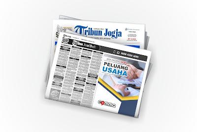pasang iklan peluang usaha di koran tribun jogja