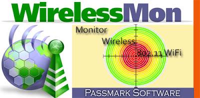 تحميل برنامج كشف باسورد الوايرلس الشبكات اللاسلكية مجانا  . download wirelessmon crack