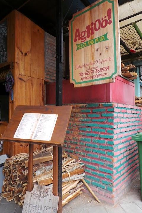 Aglioo!! Pizza & Pasta di Yogyakarta