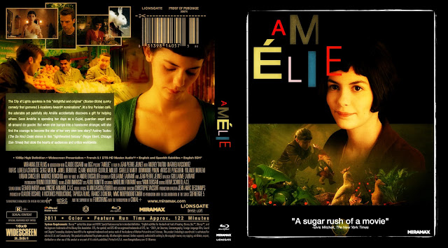 Amélie Bluray Cover