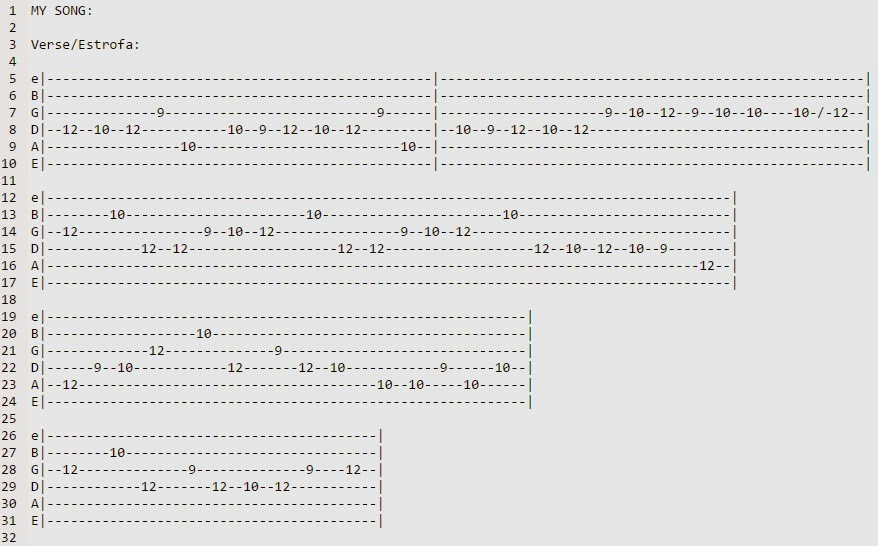 Guitar guitar chords tabs : Angel Beats My Song Guitar Chords and Guitar Tabs ~ AnimeNepal