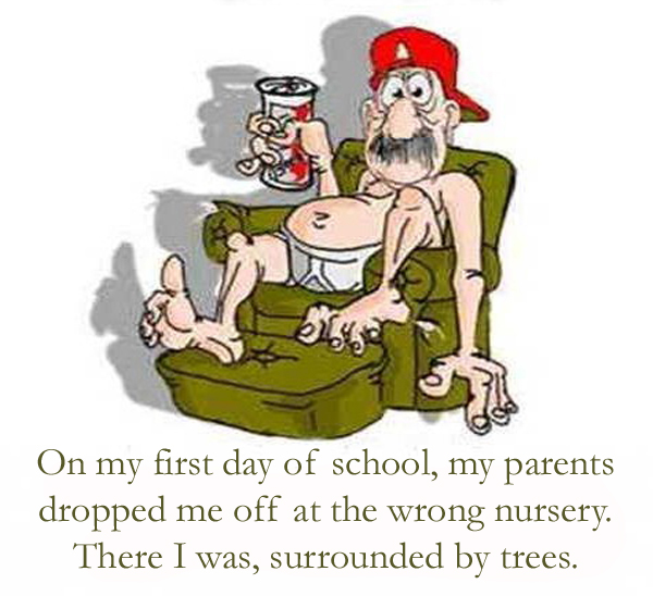 Funny The Wrong Nursery Cartoon Quote Picture