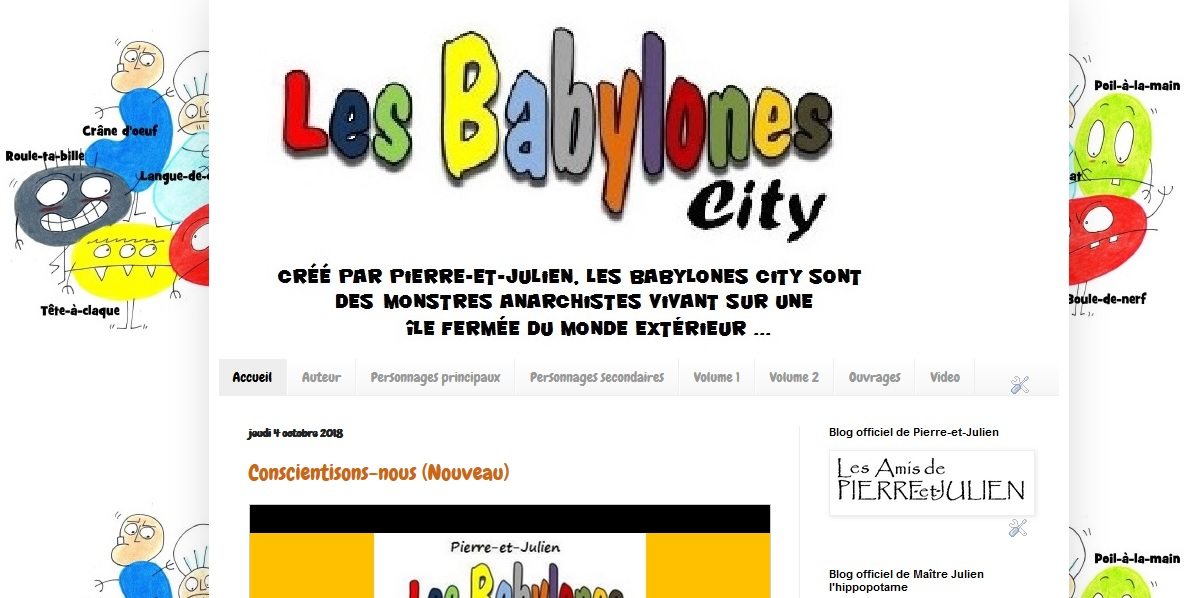Blog officiel des Babylones City