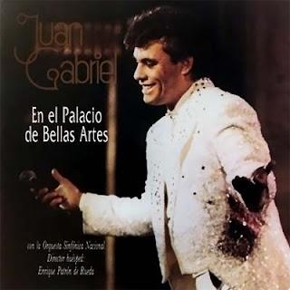 Juan Gabriel En El Palacio De Bellas Artes portada