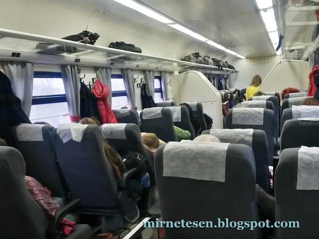 Скорый поезд Томск - Новосибирск