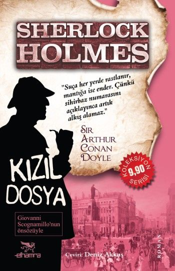 Okuduklarım: Sherlock Holmes Kızıl Dosya