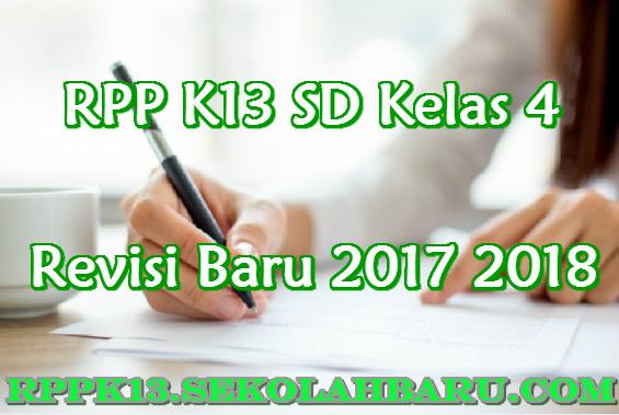 RPP K13 SD Kelas 4
