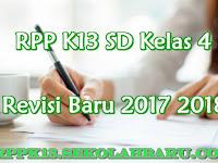 RPP K13 SD Kelas 4 Revisi Baru 2017 2018