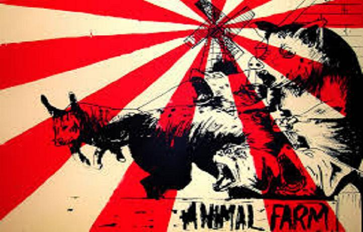 the distortion of socialism in the novel animal farm by george orwell Have you ever sought out to change something for the better but ended up making it worse in the novel animal farm, by george orwell, animals take over a farm.
