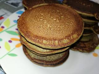 spirulina pancakes vegan