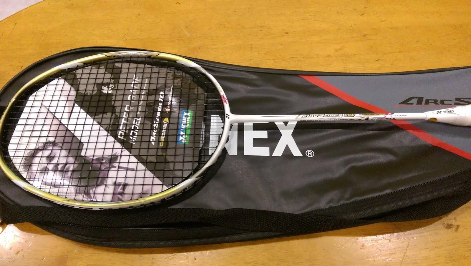 Racket Badminton Yonex Dan Li Ning Murah ArcSaber