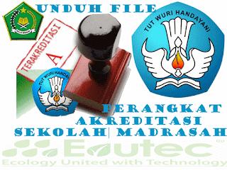 Perangkat Akreditasi Sekolah | Madrasah Tahun 2016 jenjang SD|MI, SMP|MTs, SMA|MA, SMK|MK, SDLB, SMPLB, SMALB 2016