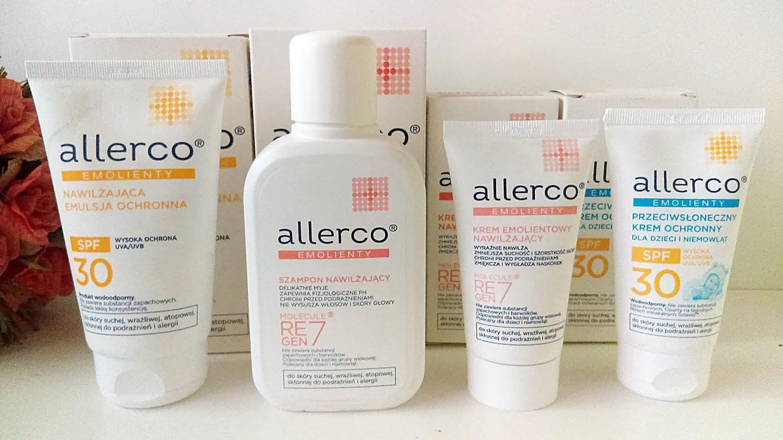 Allerco - skuteczna pielęgnacja skóry suchej i wrażliwej