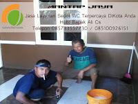 JASA SEDOT WC JALAN GUNDIH SURABAYA 085100926151