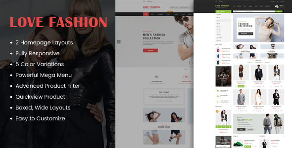 Download Love Fashion - Responsive Multipurpose OpenCart Theme