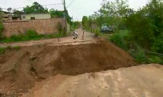 Período chuvoso preocupa moradores de Santa Luzia