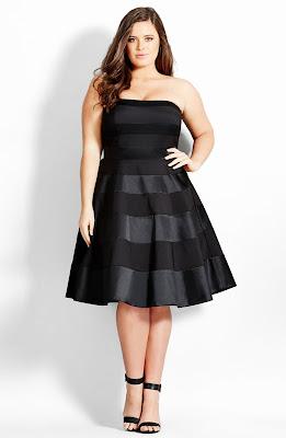 vestidos formales para mujeres con mucho busto
